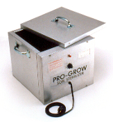 Small Soil Sterilizer for Hobby Greenhouses uses uses an efficient heat process to control weeds and disease safely and economically in your soil or growing mix. Heavy Duty Electric Soil Sterilizers are easy to use.
